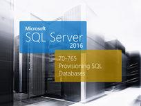 Microsoft 70-765 : Provisioning SQL Databases - Product Image