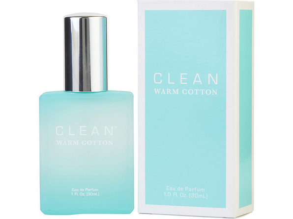 CLEAN WARM COTTON by Dlish EAU DE PARFUM SPRAY 1 OZ for WOMEN ---(Package Of 3) - Product Image