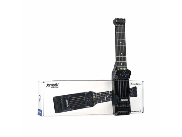 Jamstik 7 FretTouch Finger Detection Technology MIDI Smart Guitar (Distressed Box)