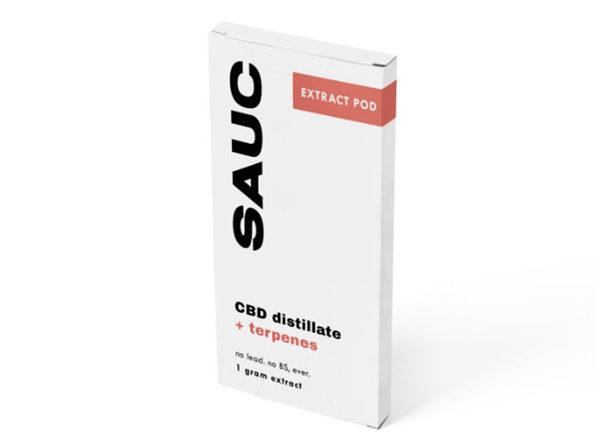 SAUC Pre-filled CBD Pod