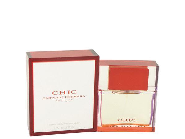 3 Pack Chic by Carolina Herrera Eau De Parfum Spray 1.7 oz for Women - Product Image