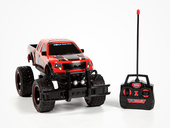 Ford F-150 SVT Raptor 1:14 RTR RC Monster Truck (RED) - Product Image