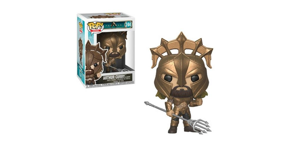Funko POP – Aquaman – Arthur Curry as Gladiator – Vinyl Collectible Figure, on sale for $14.94 (9% off)