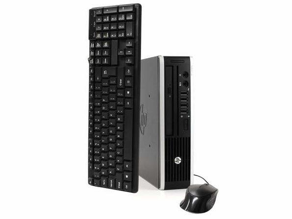 HP Elite 8300 Desktop Computer PC, 3.20 GHz Intel i5 Quad Core, 8GB DDR3 RAM, 240GB SSD Hard Drive, Windows 10 Home 64 bit (Renewed)