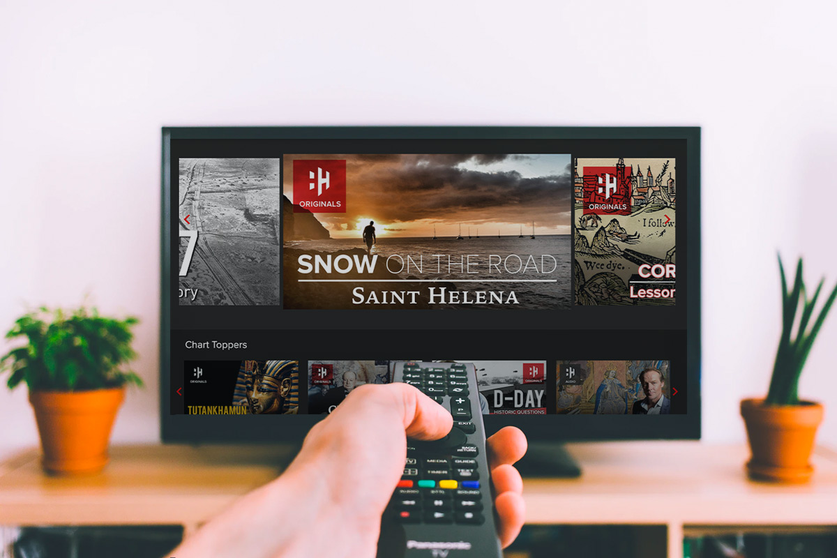 History Hit TV Streaming Service, on sale for $29.99 when you use coupon code VIPSALE40 at checkout