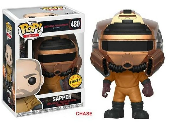 Funko Pop! Movies Blade Runner 2049 Sapper Vinyl Figure Chase #480 - Product Image