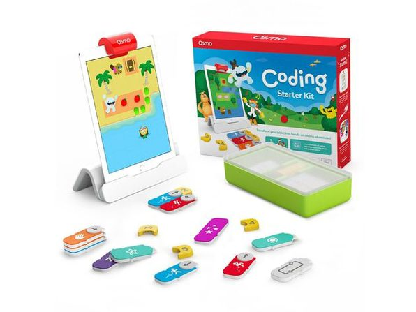 Osmo Coding Starter Kit for iPad Hands on Learning Fundamentals and Puzzles Games (New Open Box)