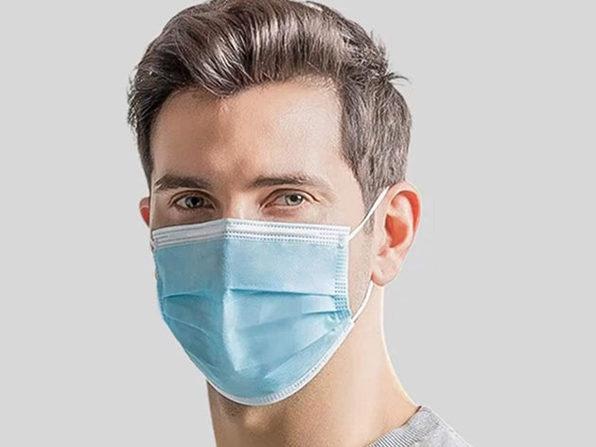 FDA-Registered 3-Ply Face Masks: 100-Pack