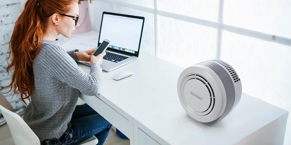 Envion EA150 HEPA 3-in-1 Desktop Air Purifier, on sale for $76.99 (14% off)