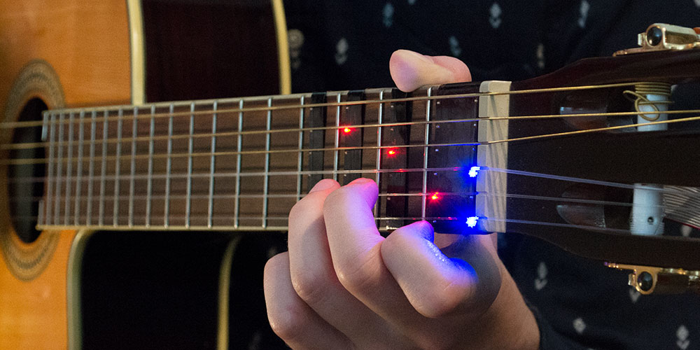 FRETX Smart Guitar Learning Device