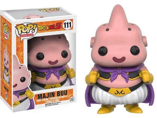 Funko Pop! Anime Dragonball Z Majin Buu Vinyl Figure Toy w POP Protector