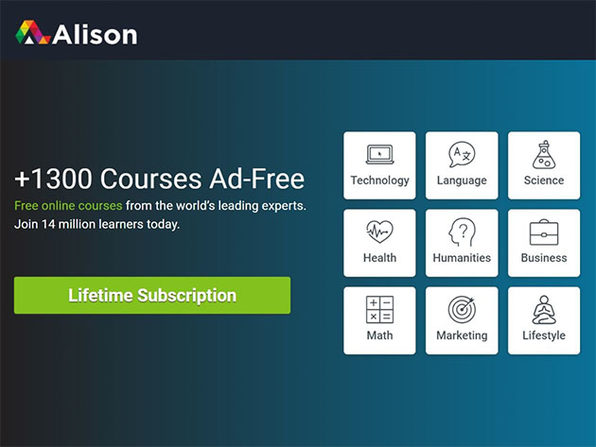 Alison Ad-Free eLearning Experience: Lifetime Ad-Free Subscription