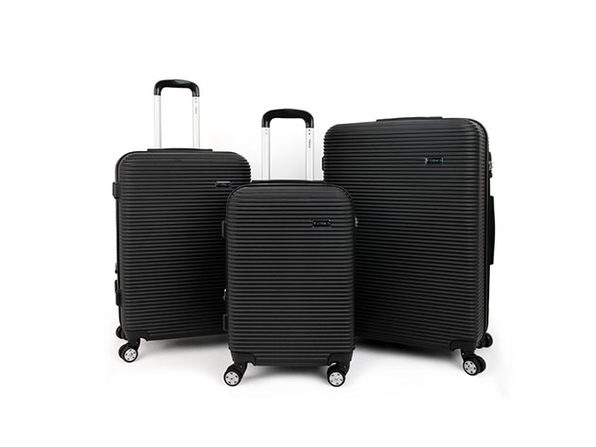 Tanka Engine Hard-Side 3-Piece Spinner Luggage