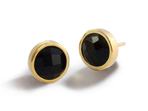 Sonia Hou FIRE Gemstone Stud Earrings
