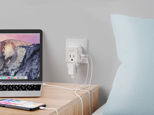 World Travel Plug Adapter + 6 Attachments