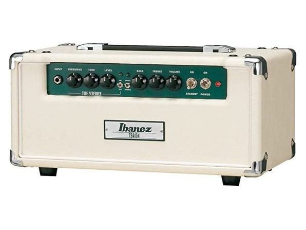Ibanez TSA15H 15W Genuine Separate Effect Pedal Screamer Circuit Tube Head-White (Distressed Box)