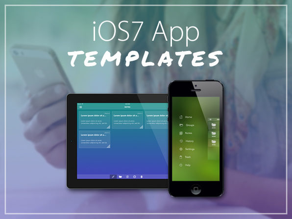 iOS 7 App Templates - Product Image