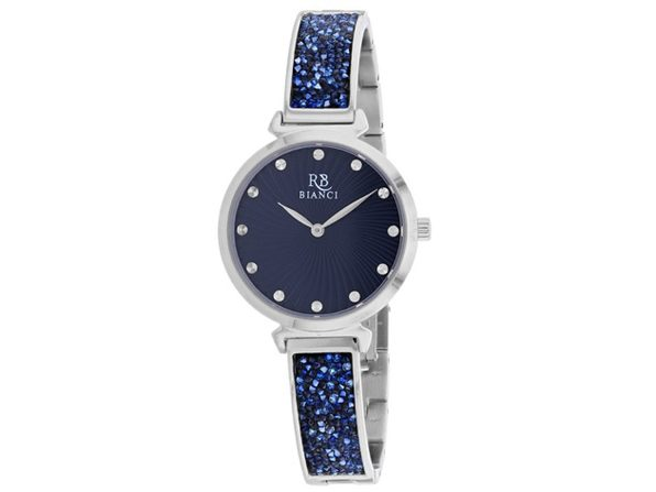 Roberto Bianci Women's Brillare Blue Dial Watch - RB0202