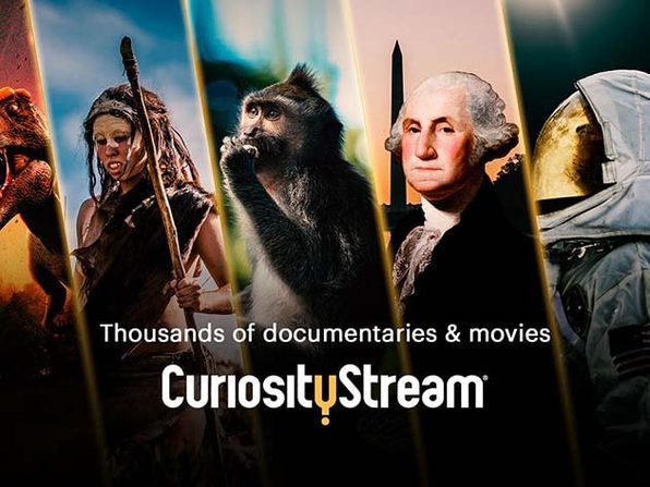 CuriosityStream HD Lifetime Subscription
