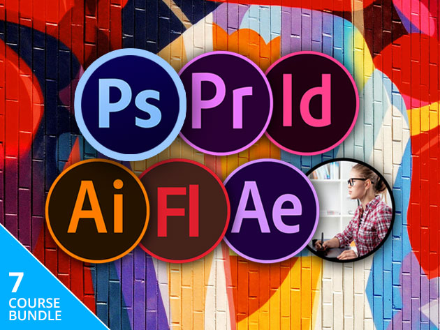 Get to Grips with Photoshop, InDesign, After Effects & More with 65 Hours & 200 Tutorials on the Adobe Creative Cloud