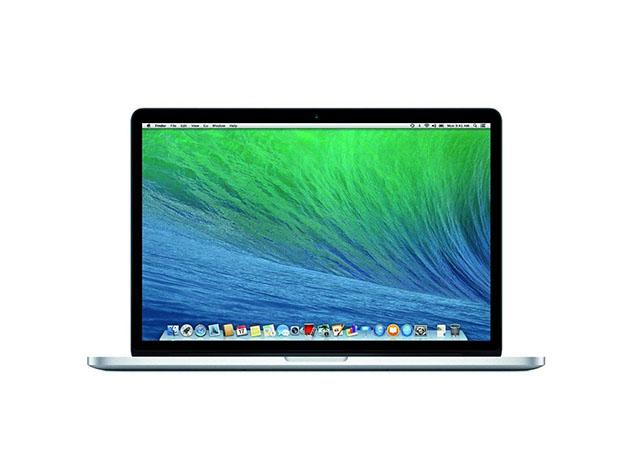 A Macbook Pro.