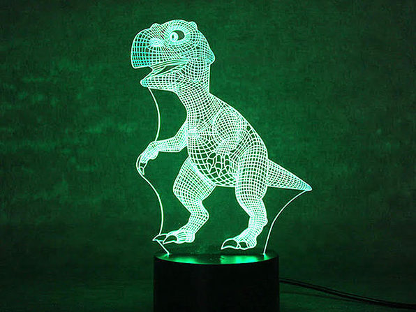 3D Dinosaur Light - Product Image
