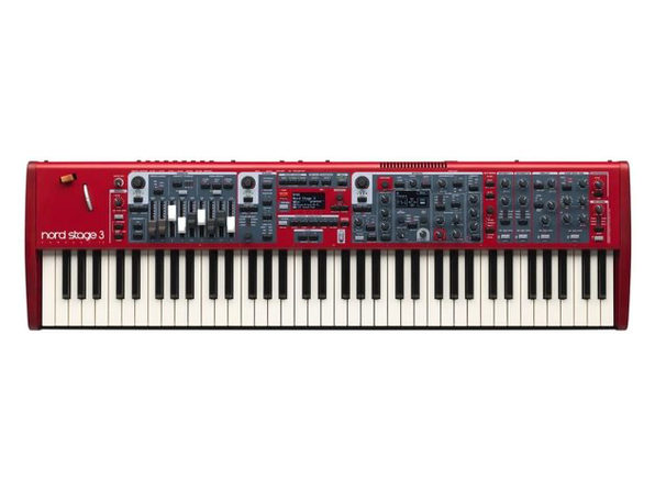 Nord Stage 3 Compact 73-Key Digital Piano with Semi-Weighted Keybed - Red (Used, Damaged Retail Box)