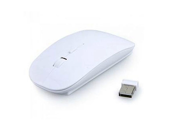 Wireless Optical Mouse - White - Product Image