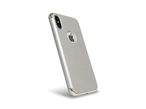 LuxArmor Executive iPhone 7 Case (Silver/Platinum)