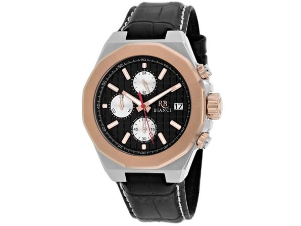 Roberto Bianci Men's Fratelli Black Dial Watch - RB0134