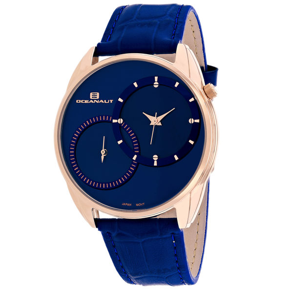 Oceanaut Men's Sentinel Blue Dial Watch - OC3355 - Product Image