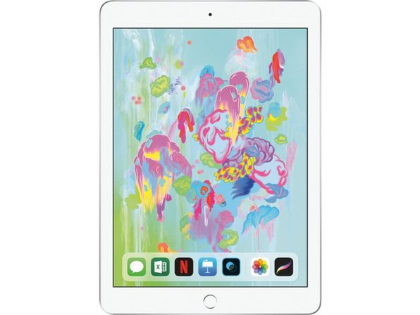 "Apple iPad 9.7"" 6th Gen (Wi-Fi Only), 32 GB, Silver (Certified Refurbished)"