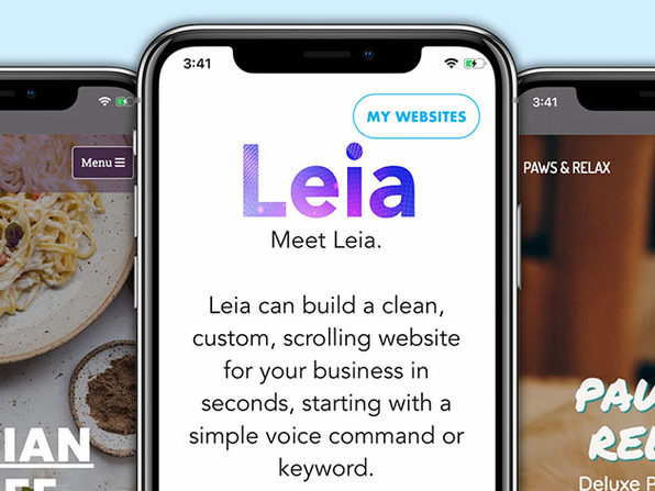 Leia AI Website Builder: Lifetime Subscription (Business LITE)