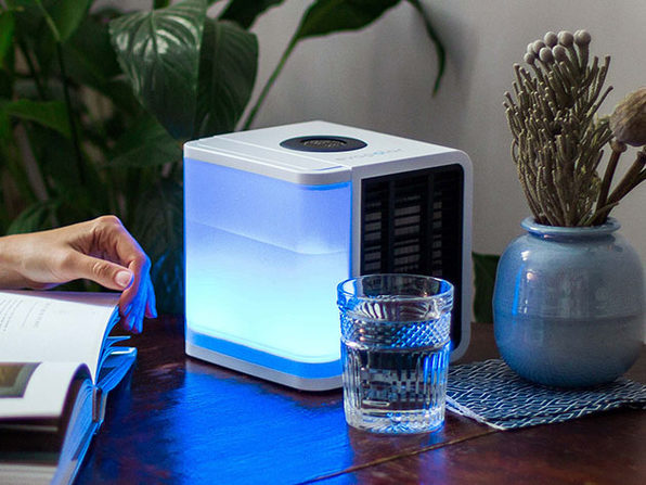 evaLIGHT Plus: Personal Air Cooler + Cartridge (White)