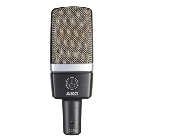 AKG Pro Audio Professional Large-Diaphragm Vocal Condenser Microphone,C214 Grey (Used, Open Retail Box)