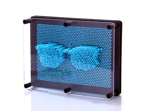 Pin Point Impression 3D Sculpture Frame (Blue)