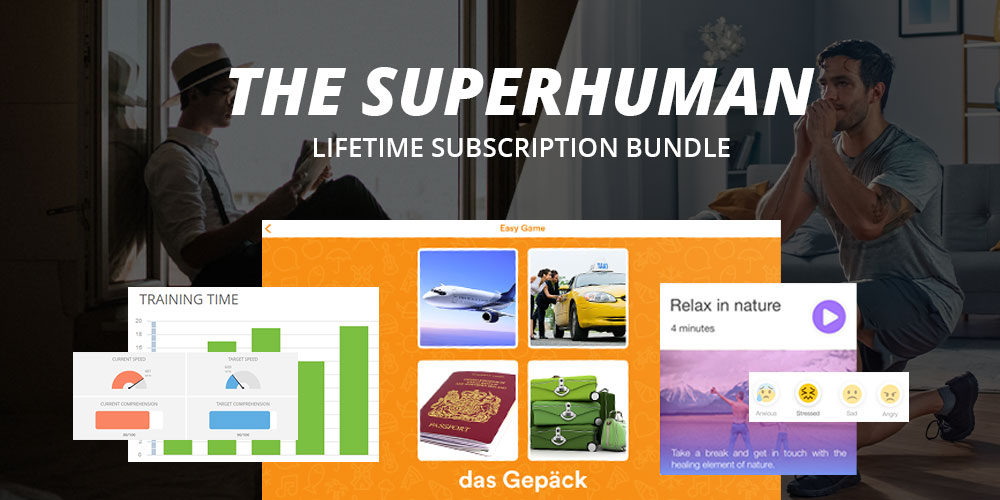 The Superhuman Lifetime Subscription Bundle, on sale for $47.40 when you use coupon code BFSAVE40 at checkout