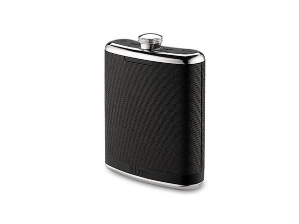 iHome Flask Shaped Bluetooth Speaker Black