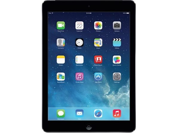 "Apple iPad Air 1st Gen MF520LL/A, 1 GHz Dual Core, 1GB DDR2 RAM, 32GB SSD, iOS, 9"" Screen (Renewed)"