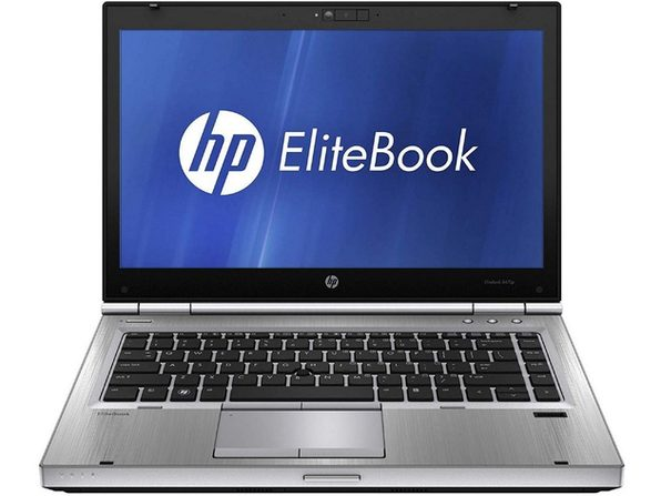 "HP EliteBook 8470P 14"" Laptop, 2.5GHz Intel i5 Dual Core Gen 3, 4GB RAM, 500GB SATA HD, Windows 10 Home 64 Bit (Refurbished Grade B)"