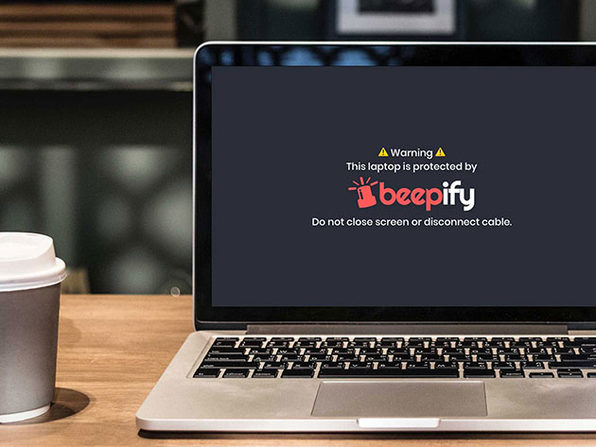 Beepify Laptop Alarm: 1-Yr Subscription
