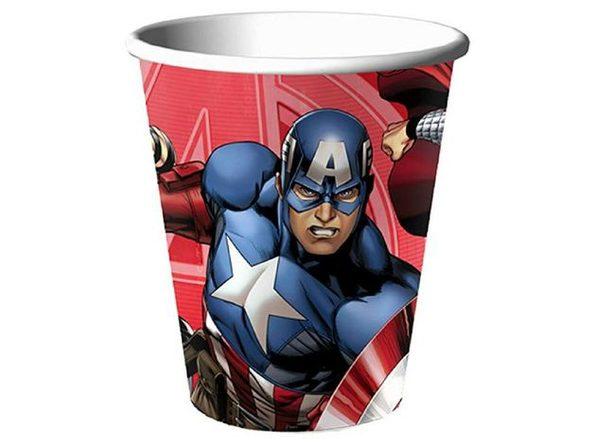 Cups - Avengers - 9oz Paper - 8ct