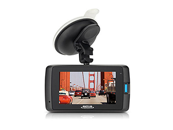 Magellan MiVue HD 420 GPS Dash Cam with 8GB SD Card