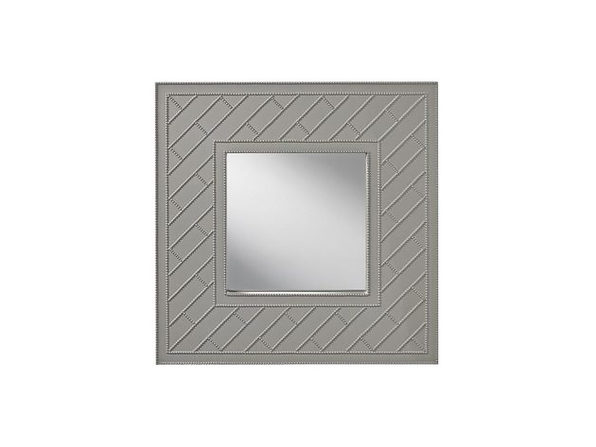 Feiss MR1182HGG Trellis Collection Mirror Hi Gloss Grey - Product Image