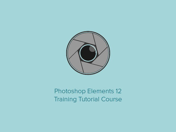 Photoshop Elements 12 Training Tutorial Course - Product Image
