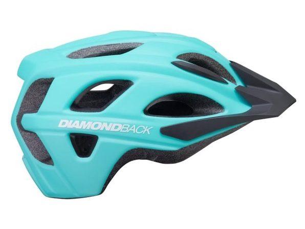 Diamondback Trace Adult Bike Helmet Large 58-61cm - Blue (New)