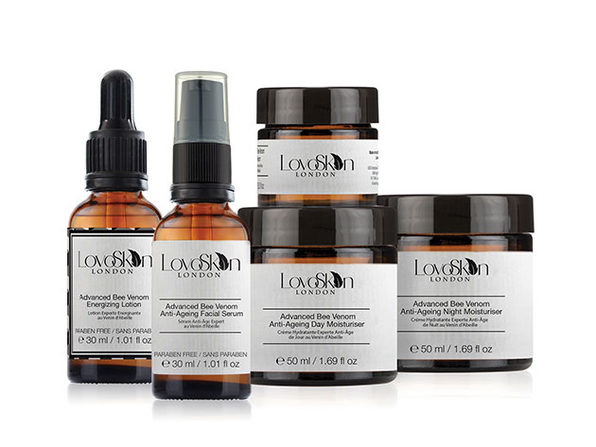 Exclusive 'LovoSkin London' Bee Venom 5-Piece Skincare Kit
