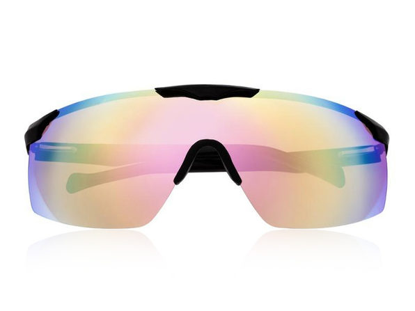 Shore Sunglasses, Red Rainbow Lens