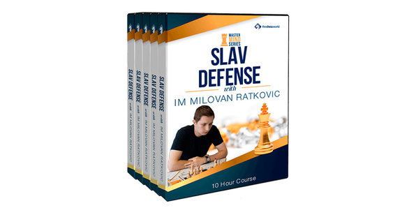 Slav Defense Mastermind with IM Milovan Ratkovic - Product Image