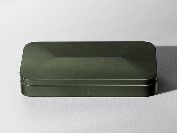 TROVA Go: Discreet Biometric Storage (Olive)